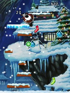 Download free game for mobile phone: Santa In Trouble - download mobile games for free.