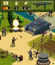 Download free mobile game: War hero 1944 - download free games for mobile phone.