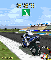 Jeu mobile Le Motocross 3D - captures d'écran. Gameplay 3D Moto Racing.