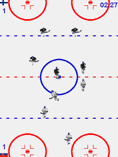 Download free game for mobile phone: Action Ice Hockey - download mobile games for free.