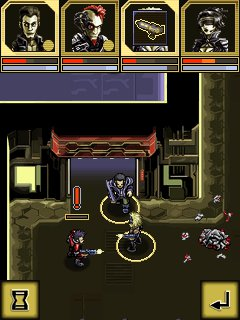 Jeu mobile Les Cyborgs. L'Acrologie - captures d'écran. Gameplay Cyberlords Arcology.