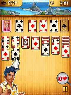 Download free mobile game: Platinum Solitaire 3 - download free games for mobile phone.