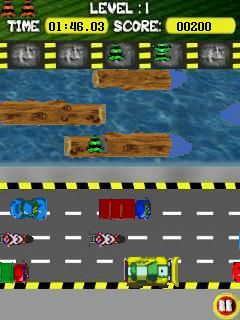 Download free mobile game: Frogger Jump - download free games for mobile phone.