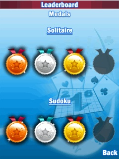 Mobile game Solitaire & Sudoku Deluxe - screenshots. Gameplay Solitaire & Sudoku Deluxe.