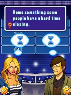 Mobile game Family Fortunes: Gold Edition - screenshots. Gameplay Family Fortunes: Gold Edition.