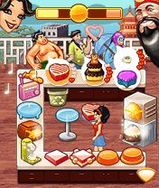Mobile game Cake Mania: Celebrity Chef - screenshots. Gameplay Cake Mania: Celebrity Chef.