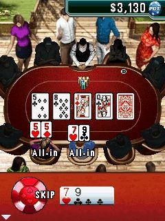 Mobil-Spiel Texas Holdem Poker 2 - Screenshots. Spielszene Texas Hold'Em Poker 2.