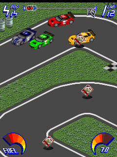 Mobile game Fire and Flames Racing - screenshots. Gameplay Fire and Flames Racing.