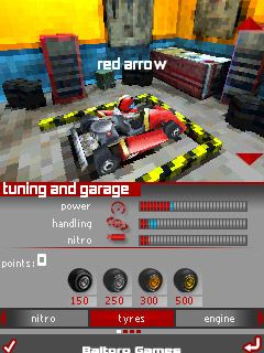 Download free mobile game: Kartmania 3D Bluetooth - download free games for mobile phone.