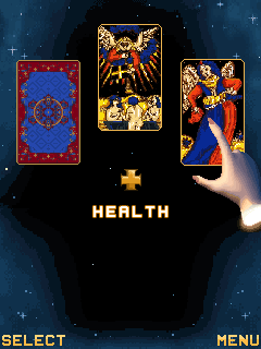 Jeu mobile La Cartomancie de Tarot - captures d'écran. Gameplay Tarot.