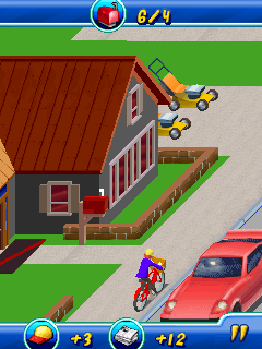 Download free game for mobile phone: Paperboy Special Delivery - download mobile games for free.