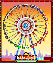 Download free game for mobile phone: Wheelette The Ferris Wheel of Fortune - download mobile games for free.