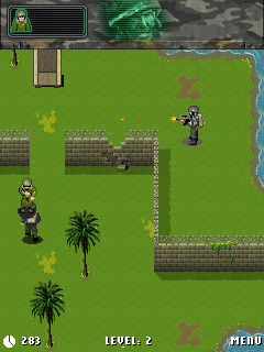 Mobile game Soldier Of Glory - screenshots. Gameplay Soldier Of Glory.