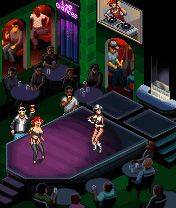 Jeu mobile Le Manager du Club de Striptease - captures d'écran. Gameplay Strip Club Manager.
