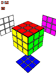 Download free game for mobile phone: Rubik's Cube 3D - download mobile games for free.