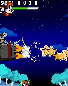 Download free mobile game: Stunt Cat Kedy - download free games for mobile phone.