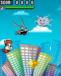 Download free game for mobile phone: Stunt Cat Kedy - download mobile games for free.