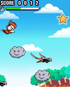 Mobile game Stunt Cat Kedy - screenshots. Gameplay Stunt Cat Kedy.