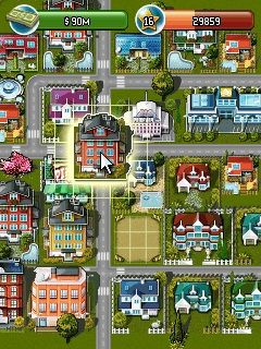 Download free game for mobile phone: Millionaire City - download mobile games for free.