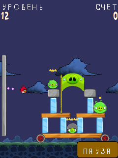 Download free game for mobile phone: Angry Birds - download mobile games for free.