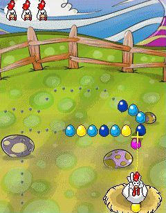 Download free game for mobile phone: Crazy Chicken - download mobile games for free.