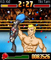 Скриншот java игры Super KO Boxing. Игровой процесс.