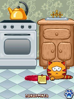 Download free mobile game: MewSim New Year 1.0.3 (240x320 - download free games for mobile phone.