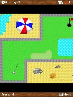 Download free mobile game: Mini Golf Summer - download free games for mobile phone.