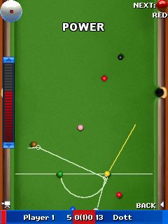 Download free game for mobile phone: World Snooker Championship 2011 - download mobile games for free.