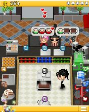 Mobile game Coffee Shop - screenshots. Gameplay Coffee Shop.