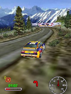 Download free game for mobile phone: Snow Rally Canada 3D - download mobile games for free.