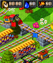 Download free mobile game: My Model Train Gold - download free games for mobile phone.