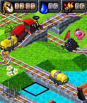 Download free game for mobile phone: My Model Train Gold - download mobile games for free.