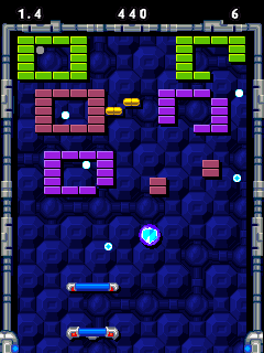 Mobile game Ultimate Brick Breaker 2 - screenshots. Gameplay Ultimate Brick Breaker 2.