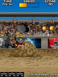 Mobile game Monster Truck Muddle - screenshots. Gameplay Monster Truck Muddle.