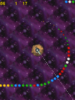Download free mobile game: Space Balls - download free games for mobile phone.