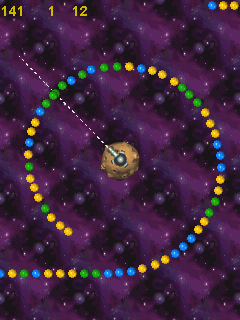 Download free game for mobile phone: Space Balls - download mobile games for free.