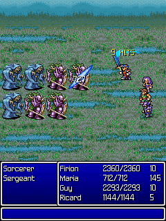 Download free game for mobile phone: Final Fantasy II - download mobile games for free.