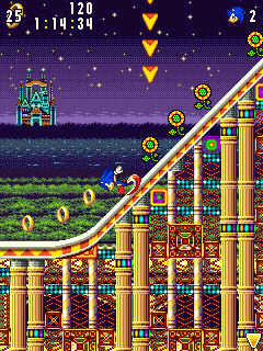 Download free game for mobile phone: Sonic Advance - download mobile games for free.