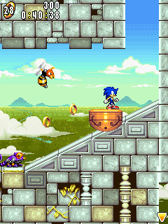 Mobile game Sonic Advance - screenshots. Gameplay Sonic Advance.