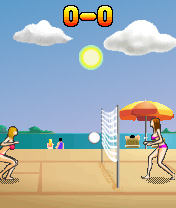 Download free game for mobile phone: Holly Hooters Volleyball Cup - download mobile games for free.