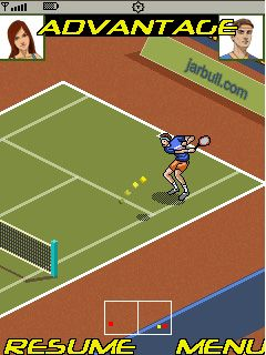 Download free game for mobile phone: Tennis Tournament 2011 - download mobile games for free.