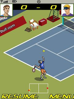 Mobile game Tennis Tournament 2011 - screenshots. Gameplay Tennis Tournament 2011.
