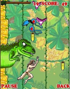 Download free game for mobile phone: Tarzan In Women Paradise - download mobile games for free.