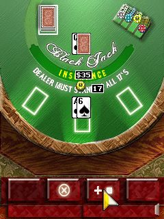 Download free mobile game: Black Jack Masters - download free games for mobile phone.