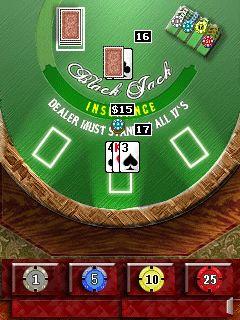 Download free game for mobile phone: Black Jack Masters - download mobile games for free.