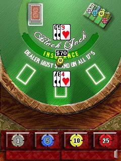 Mobile game Black Jack Masters - screenshots. Gameplay Black Jack Masters.