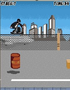 Jeu mobile Le Skatboarding - captures d'écran. Gameplay Skateboard.