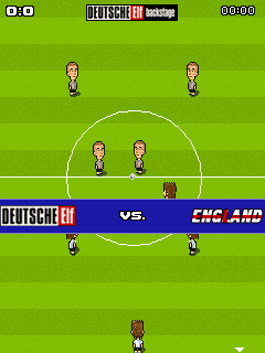 Download free mobile game: FunSoccer Deutsche Elf Backstage - download free games for mobile phone.