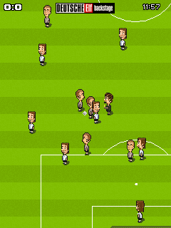 Download free game for mobile phone: FunSoccer Deutsche Elf Backstage - download mobile games for free.